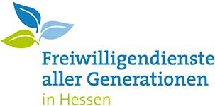 Projektlogo: Freiwilligendienste aller Generationen in Hessen