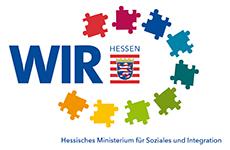 Logo: WIR - Hessisches Ministerium für Soziales und Integration